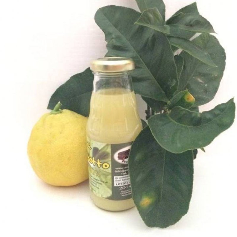 Succo di Bergamotto puro al 100%
