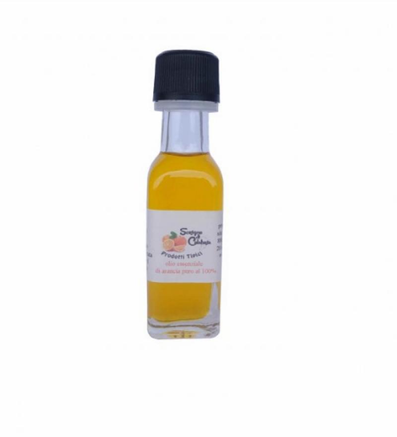 olio essenziale di arancia puro al 100%