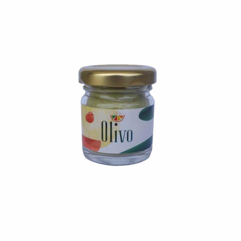 foglie di olivo essiccate