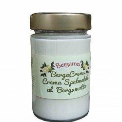 crema spalmabile al bergamotto